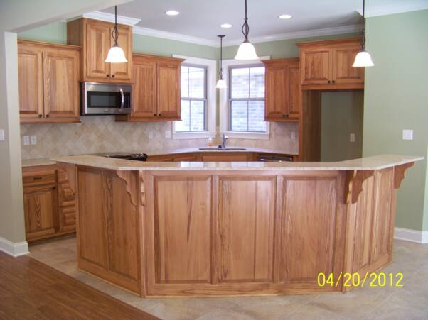 Clear Cypress Cabinets